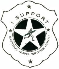 I support National Novel Writing Month. And Ipswich Town.